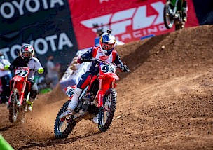 Sieg für Roczen beim 5. Salt Lake City AMA Supercross.