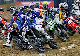Pressebericht vom Star Yamaha Racing zum Supercross in Houston Texas