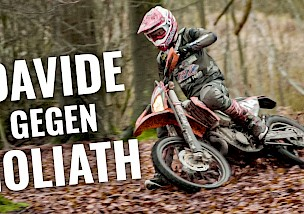 Davide gegen Goliath: Enduroaction mit 500 Kubik!